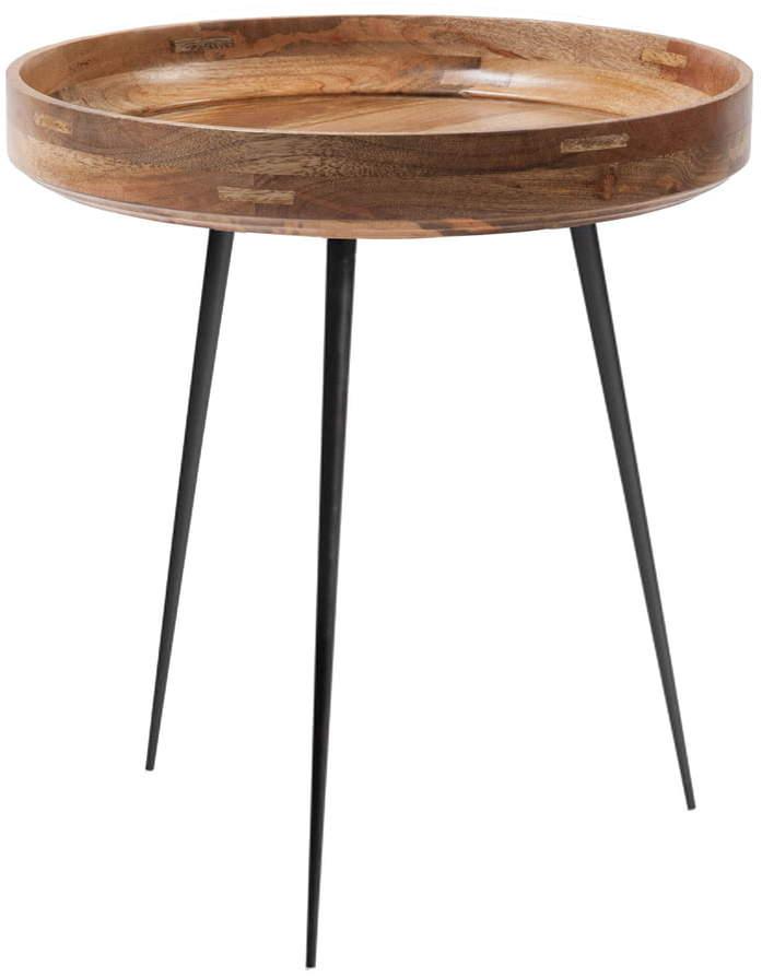Mater - Bowl Table medium, Ø 46 x H 52 cm, natur