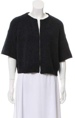 Marni Cropped Open Front Cardigan