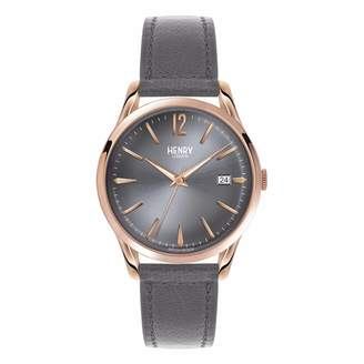Henry London - Ladies 39mm Finchley Leather Watch