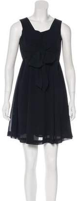 Anna Sui Sleeveless Mini Dress