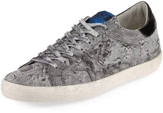 Golden Goose Men's Glitter Star Low-Top Sneakers