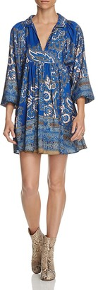 Free People Say You Love Me Mini Dress $128 thestylecure.com