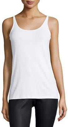 Eileen Fisher Silk Jersey Long Slim Camisole, Petite