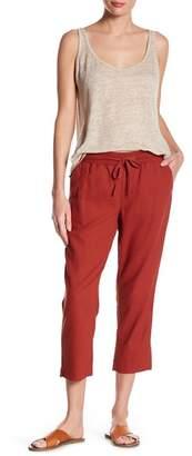 Susina Linen Blend Cropped Pants (Regular & Petite)