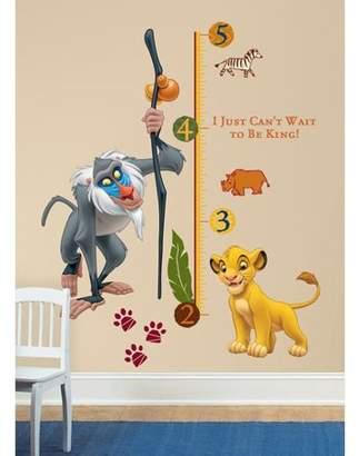 Wallhogs Disney The Lion King Growth Chart Wall Decal