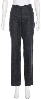 Dries Van Noten High-Rise Straight-Leg Pants