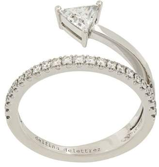 Delfina Delettrez 18kt white gold Marry Me ring