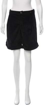 Dolce & Gabbana Mid-Rise Knee Length Shorts