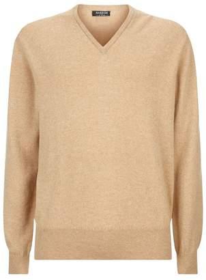Harrods Cashmere V-Neck Sweater