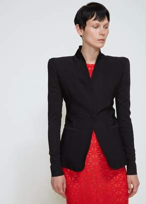 Gareth Pugh Shawl Collar Suit Jacket