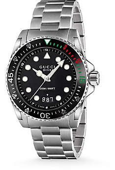 Gucci Men's Dive Stainless Steel Bracelet Watch