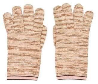 Missoni Mare Knit Stripe Gloves
