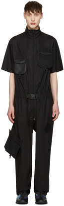 Y-3 Black X Military Jumpsuit $890 thestylecure.com