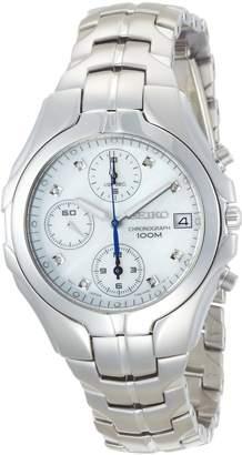 Seiko Women's SNDZ25 Excelsior Chronograph -Tone Watch