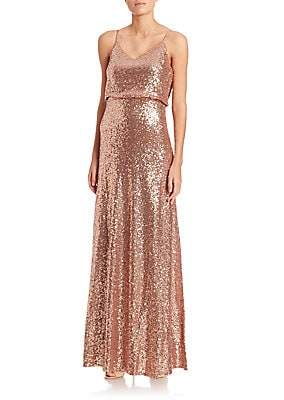 Jenny Yoo Women's Jules Sequin Tulle Gown