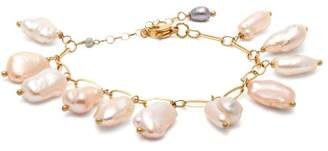 Timeless Pearly - Baroque Pearl Bracelet - Womens - Pearl