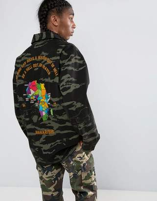 MHI Camo Tour D'Afrique Shirt Jacket