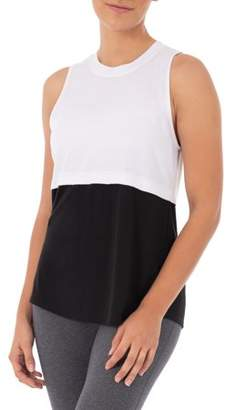 Athletic Works Women's Active Colorblock 2fer Tank