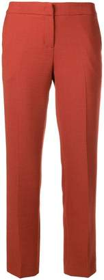 Twin-Set cropped slim trousers