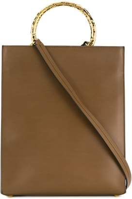 Marni bracelet handle shopping bag