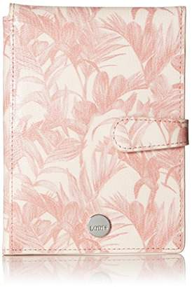 Lodis Palm Passport Wallet with Ticket Flap