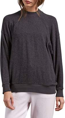 Volcom Lil Mock Neck Fleece Sweatshirt
