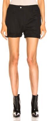Saint Laurent Shorts in Black | FWRD