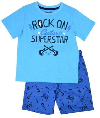 Nannette Toddler Boy T-shirt & Woven Shorts, 2pc Outfit Set