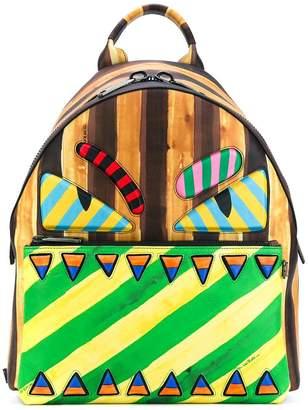 Fendi Monster marker-style backpack
