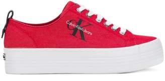 Calvin Klein Jeans flatform logo sneakers