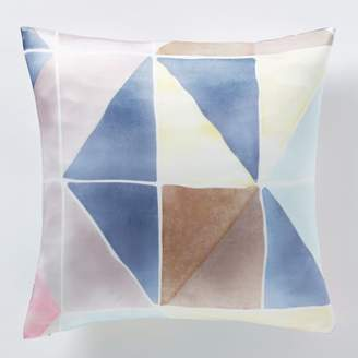 west elm Roar + RabbitTM Geo Silk Watercolor Pillow Cover