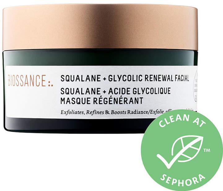 BIOSSANCE Biossance Squalane + Glycolic Renewal Facial