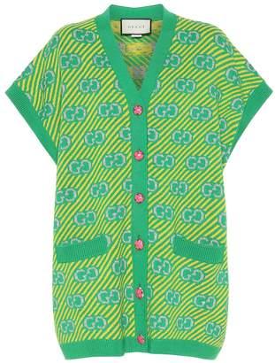 Gucci GG wool-blend vest