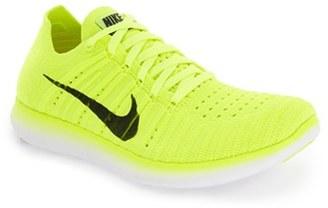 Women's Nike 'Free Flyknit' Running Shoe $130 thestylecure.com