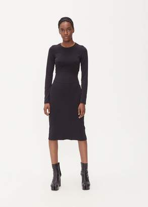 Maison Margiela Jersey Stitch Long Sleeve Dress