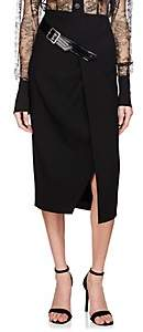 Givenchy Women's Belted Wool Pencil Skirt - Black