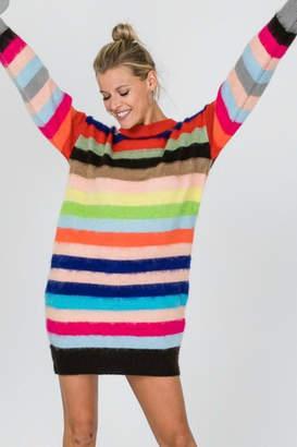 Modern Emporium Stripped Sweater Dress