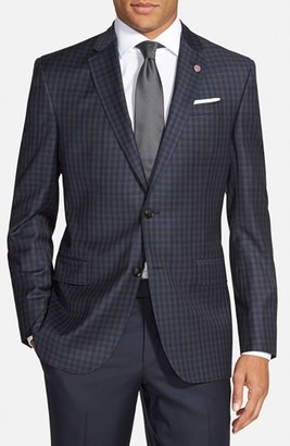 Men's Ted Baker London 'Jay' Trim Fit Check Wool Sport Coat $695 thestylecure.com