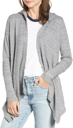 Splendid Thermal Hooded Cardigan