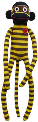 Sockie Monkey Stripe Plush Toy