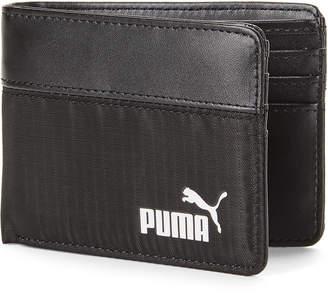 Puma Black Parcel Billfold Wallet