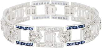Heritage Jewelry Collection Heritage Jewelry Simulated Gemstone Link Bracelet