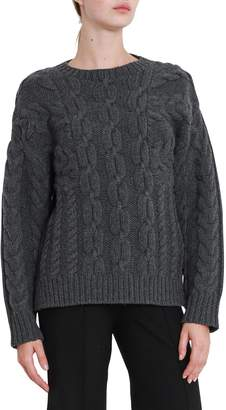 Cédric Charlier Woll And Cashmere Cablestitch Sweater