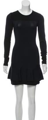 Isabel Marant Wool-Blend Mini Dress