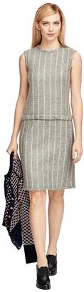 Wool Chalkstripe Dress $650 thestylecure.com