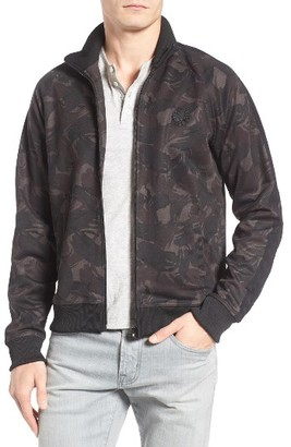 Men's Fred Perry Camo Track Jacket $160 thestylecure.com