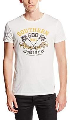 ... Jack & Jones Vintage Men's Jjvcjed SS Tee Crew Neck T-Shirt, White-