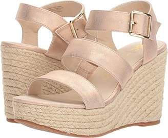 BC Footwear Women's Snack Bar Wedge Sandal