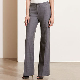 Ralph Lauren Stretch Wool Flared Pant $185 thestylecure.com