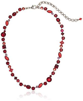 Sorrelli Ruby Classic Tee-Shirt Necklace